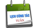 Lịch tuần 20